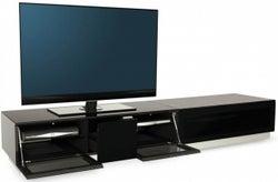Alphason Element Black TV Cabinet for 82inch - EMTMOD2100-BLK