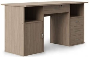 Alphason Dallas Oak Computer Desk - AW12289OAK