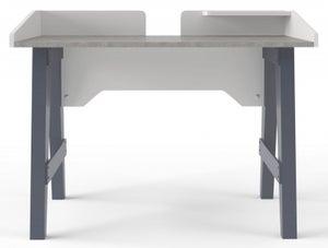 Alphason Truro Grey Marble Effect Writing Desk - AW3190