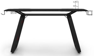 Alphason Oblivion Black and Red Gaming Desk - AW9220
