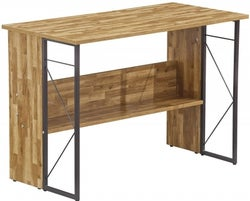 Alphason Rhodes Walnut Computer Desk - AW3524