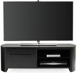 Alphason Finewood Black Oak TV Cabinet for 50inch - FW1100CB-BLK
