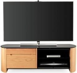 Alphason Finewood Light Oak TV Cabinet for 50inch - FW1100CB-LO