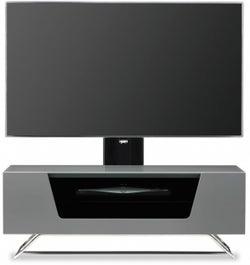 Alphason Chromium 2 Grey Cantilever TV Cabinet for 50inch - CRO2-1000BKT-GR