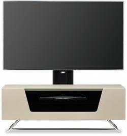 Alphason Chromium 2 Ivory Cantilever TV Cabinet for 50inch - CRO2-1000BKT-IV