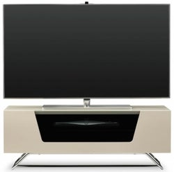 Alphason Chromium 2 Ivory TV Cabinet for 45inch - CRO2-1000CB-IVO