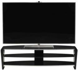 Alphason Francium Black TV Unit for 58inch - FRN1400-3BLK-BK