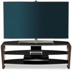 Alphason Francium TV Unit for 50inch - Black and Walnut FRN1100-3-W