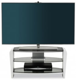Alphason Francium White TV Unit - FRN800-3WHT-SK