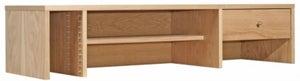 Alphason Oak Desktop Hutch