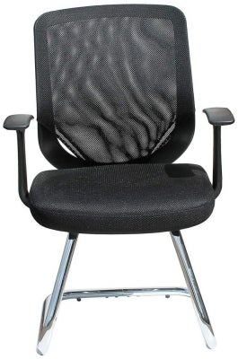 Alphason Atlanta Black Mesh Fabric Office Chair - AOC9201-V-BLK