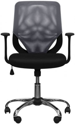 Alphason Atlanta Mesh Fabric Office Chair - Black and Grey AOC9201-M-GRY