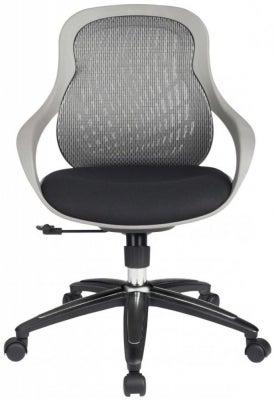 Alphason Croft Grey Mesh Fabric Office Chair - AOC1010-M-GRY