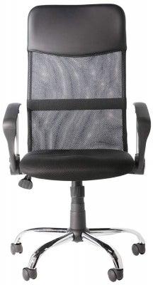 Alphason Orlando Black Mesh Fabric Office Chair - AOC4087BLK