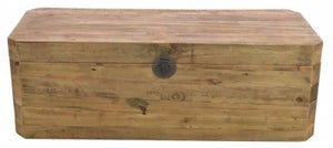 Ancient Mariner Fair Isle Reclaimed Pine Rectangular Blanket Box