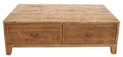 Ancient Mariner Fair Isle Reclaimed Pine 4 Drawer Coffee Table