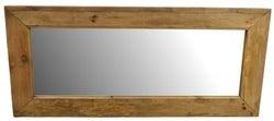 Ancient Mariner Fair Isle Reclaimed Pine Rectangular Mirror - 180cm x 80cm