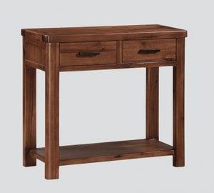 Andorra Dark Acacia Large Console Table