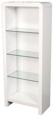 Clarus White Bookcase