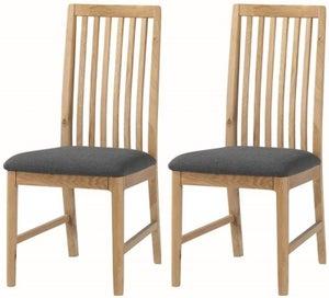 Dunmore Oak Dining Chair (Pair)