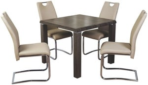 Encore Charcoal Square Dining Table
