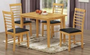 Hanover Light Oak Dining Table