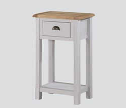 Kilmore Console Table - Oak and Grey Painted