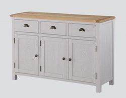 Kilmore Large Sideboard - Oak and Grey Painted
