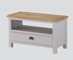 Kilmore TV Unit - Oak and Grey Painted