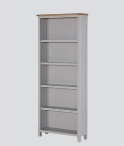 Kilmore Tall Bookcase - Oak and Grey Painted