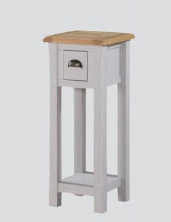 Kilmore Telephone Table - Oak and Grey Painted