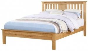 Newbridge Oak Low Footend Bed