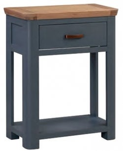 Treviso Midnight Blue and Oak Console Table