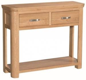 Treviso Oak Large Console Table