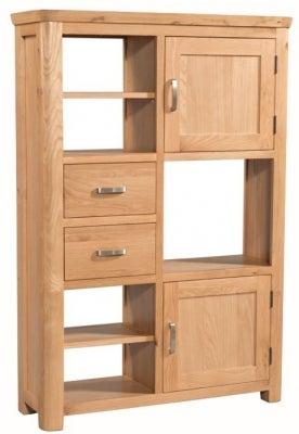 Treviso Oak High Display Unit