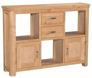 Treviso Oak Display Unit