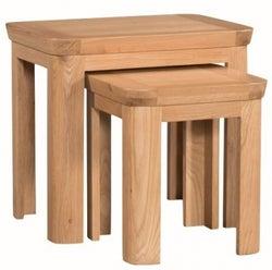 Treviso Oak Nest of Tables