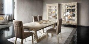 Arredoclassic Adora Sipario Italian Cream 200cm-300cm Rectangular Dining Table