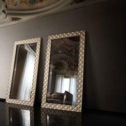 Arredoclassic Adora Sipario Italian Cream Rectangular Mirror