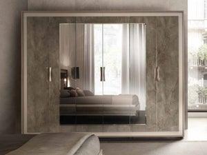 Arredoclassic Ambra Italian 6 Door Wardrobe