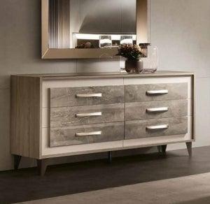 Arredoclassic Ambra Italian 6 Drawer Dresser