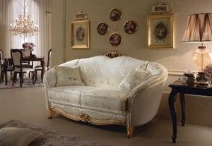 Arredoclassic Donatello Italian 2 Seater Fabric Sofa