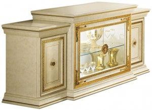 Arredoclassic Leonardo Golden Italian 4 Door Wide Sideboard