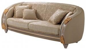 Arredoclassic Liberty Italian 3 Seater Fabric Sofa