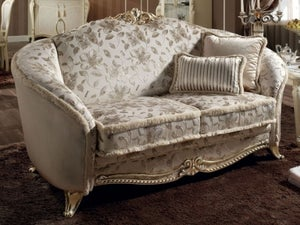 Arredoclassic Tiziano Italian 2 Seater Fabric Sofa