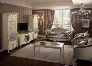 Arredoclassic Tiziano Italian 3+1+1 Seater Fabric Sofa Set