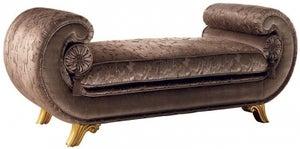 Arredoclassic Tiziano Italian Fabric Venere Chaise Longue