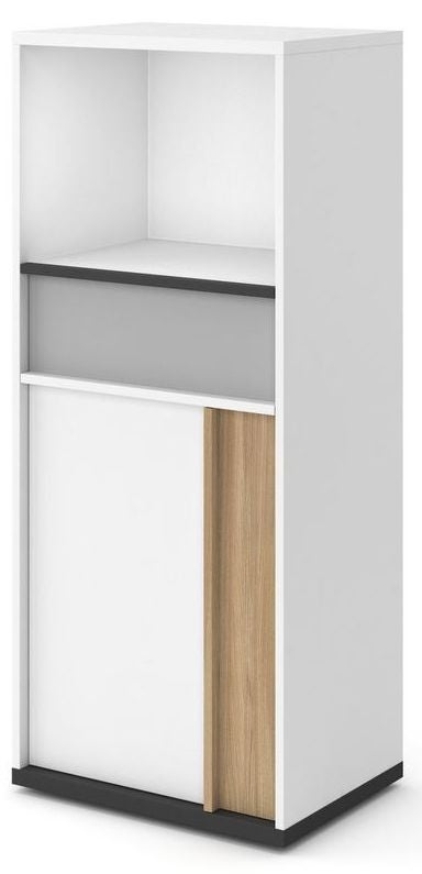 Grace White Tall Cabinet