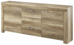 Lincoln Country Oak Large Sideboard