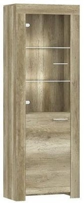 Lincoln Country Oak Tall Cabinet